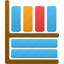 books, library icon