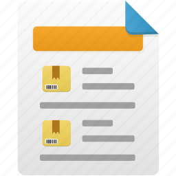 document, file, product, report, sale icon