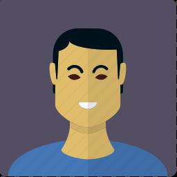 asian, avatar, boy, face, male, man icon