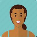 avatar, beauty, face, female, girl, latin, woman