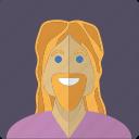 avatar, beard, blond, face, longhaired, male, man