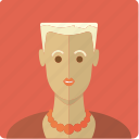 avatar, blonde, face, female, girl, short haired, woman