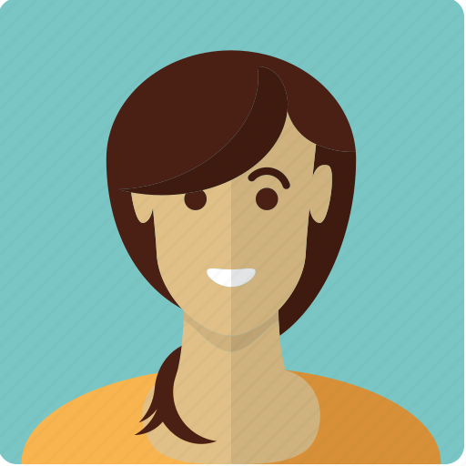 avatar, face, female, girl, latin, pigtail, woman icon