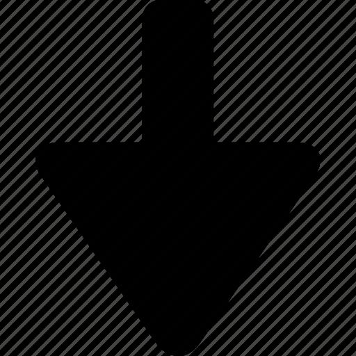 Down icon - Download on Iconfinder on Iconfinder