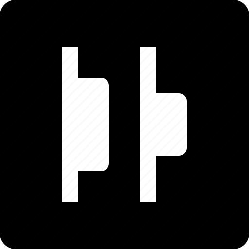 align, edges, left icon