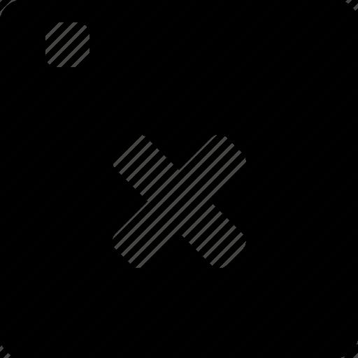 browser, close icon