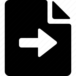 document, import icon