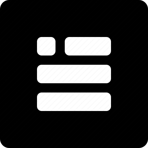 paragraph, text icon