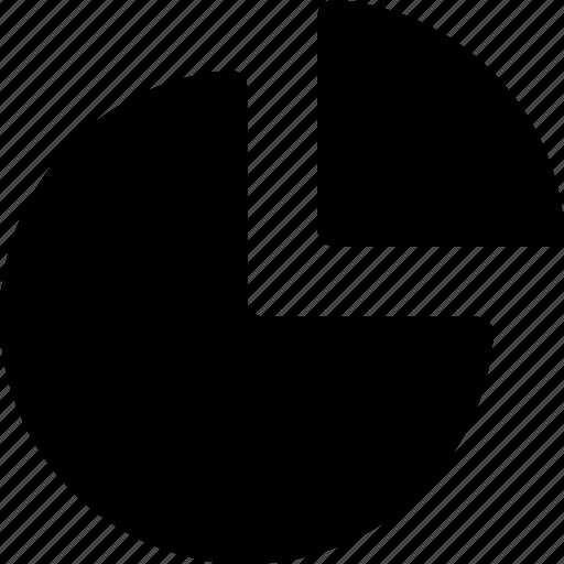 graph, pie icon