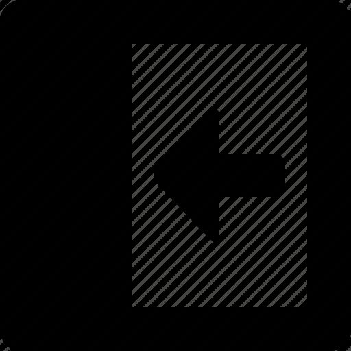 Slide, out, left icon - Download on Iconfinder on Iconfinder