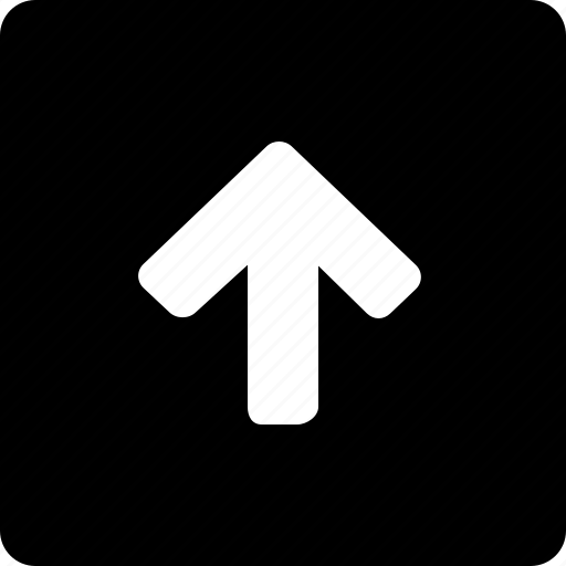 Square, up icon