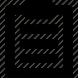 1b, clipboard icon