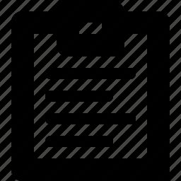 2a, clipboard icon