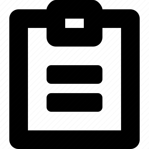 2b, clipboard icon