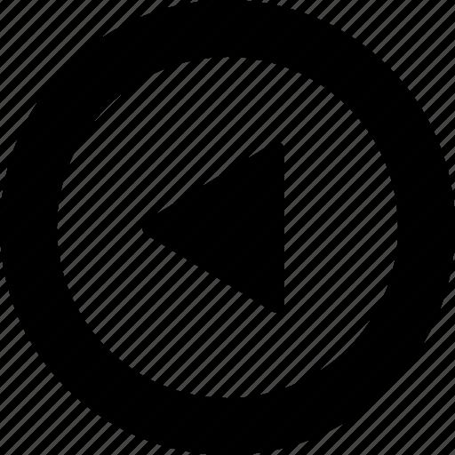 circle, left icon