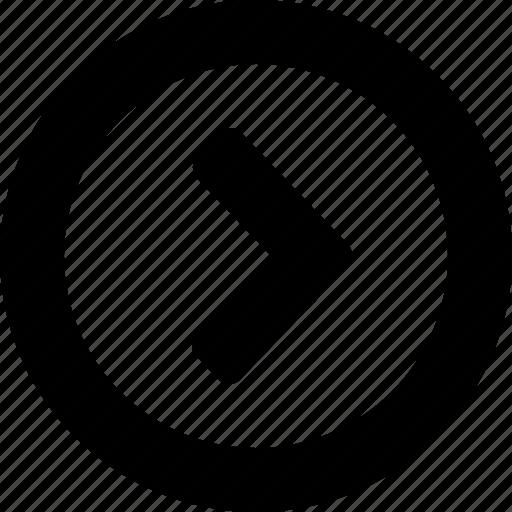 circle, right icon