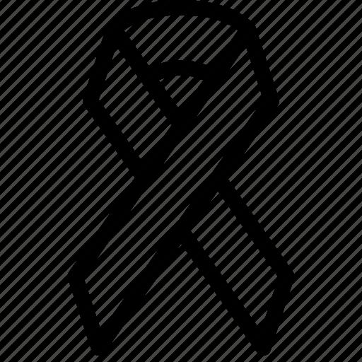 health, hiv, medical, ribbon, syndrome icon