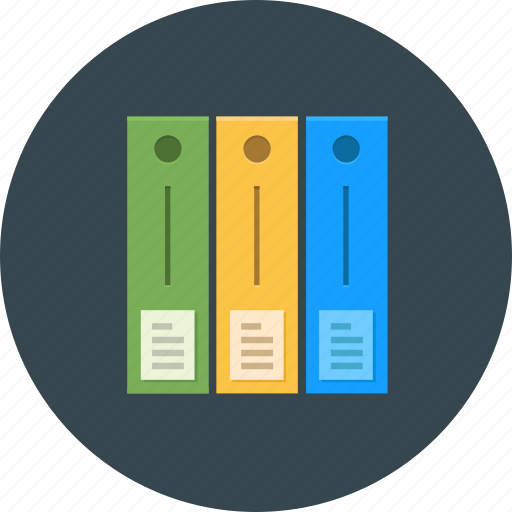 business, document, folder, knowledge, learning, librari, office icon