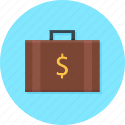 bag, briefcase, business, office, suitcase, workcase icon