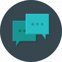 bubble, business, chat, message, office, support icon