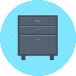 cuppboard, filecase, office storage, storage icon