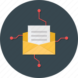 business, email, email blast, marketing, office icon