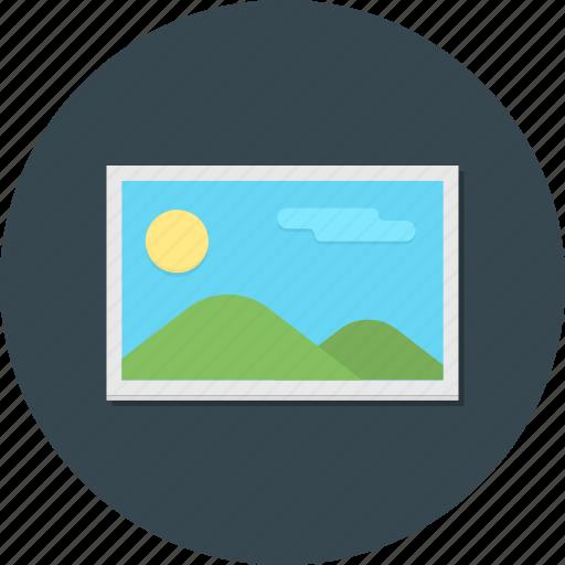 album, landscape, photo, photography, picture, wallpaper icon
