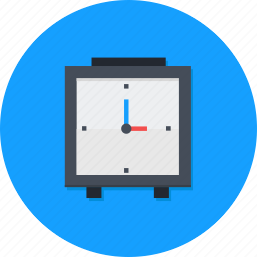 alarm, late, office, watch icon