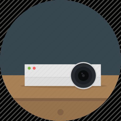 cinema, device, entertainment, movie, present, presentation, projector icon