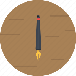 old pen, pen, steel pen, write icon