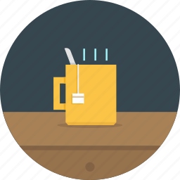 cup, drink, hot tea, tea icon