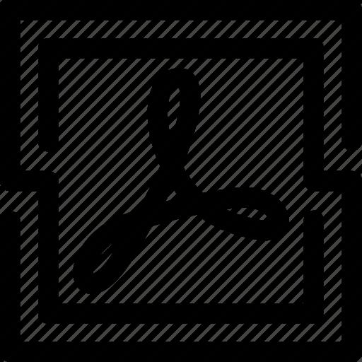 acrobat, adobe, dc, pdf, pro, reader, tool icon