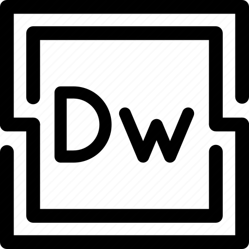 adobe, design, dreamweawer, html, web, webmaster icon
