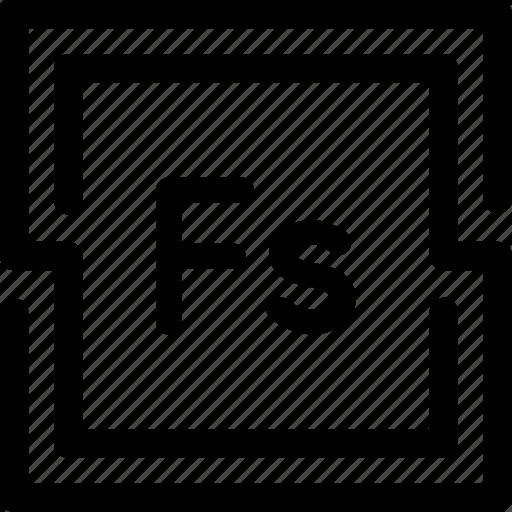 adobe, fuse, program, tool icon