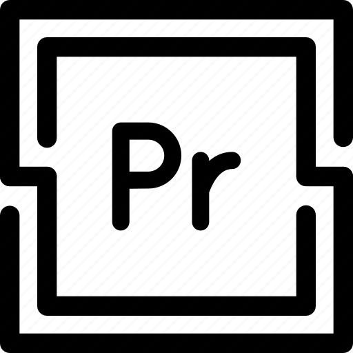adobe, premiere, pro, program, tool, video icon