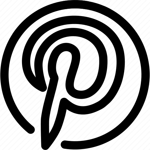 blog, network, photos, pinterest, social icon