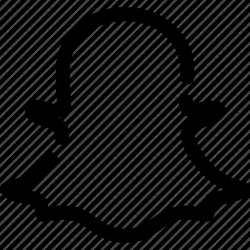chat, media, photos, snapchat, social icon