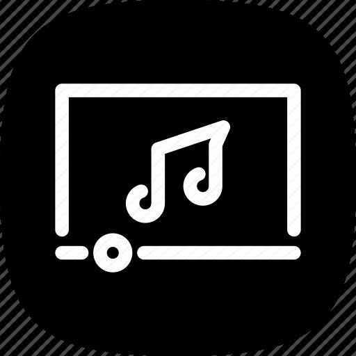 album, app, music, playlist, record, sound icon