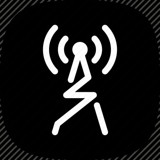 audio, connection, radio, speech, wave, wireless icon