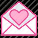 email, love, message, send, valentine