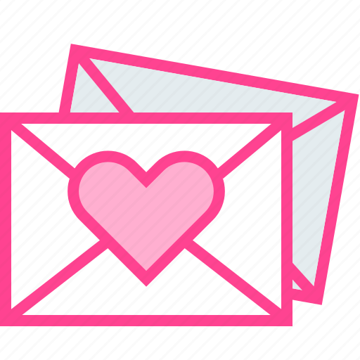Email, love, message, send, valentine icon - Download on Iconfinder