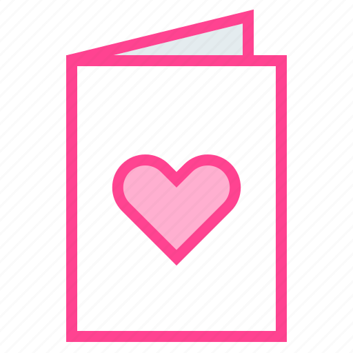 Card, greeting, heart, love, valentine icon - Download on Iconfinder