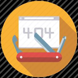 bug fixing, error, marketing, seo, service, tools, web icon