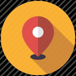 local, marker, marketing, seo, service, web icon