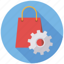 commerce, marketing, online shop, seo, service, setup, web icon