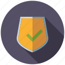 checking, marketing, security, seo, service, shield, web icon