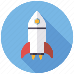 launch, marketing, mission, rocket, seo, service, web icon