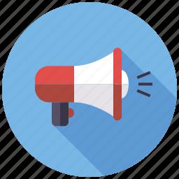 advertising, marketing, megaphone, seo, service, viral, web icon