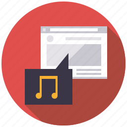 embedding, link, marketing, music, seo, service, web icon