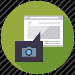 embedding, image, link, marketing, seo, service, web icon